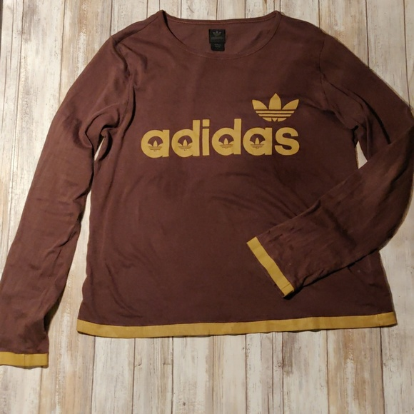 Sleeve Retro Shirt T Long Adidas GpUqzMSV